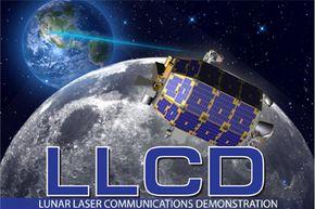 Artist's rendition of NASA's Lunar Laser Communications Demonstration