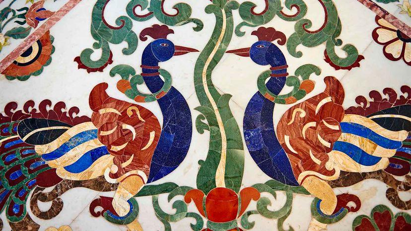 lapis lazuli inlay