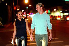 night life couple