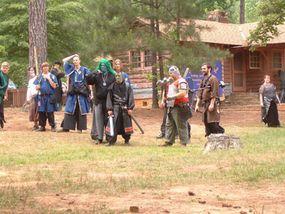 Campgrounds are a common LARP venue.