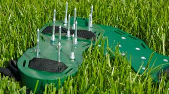 Why do lawns need to be aerated?