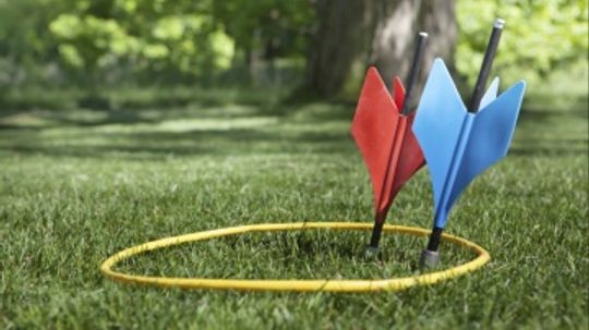 What's a safer substitute for lawn darts?