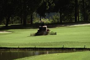 Robotic lawn mowers might be trimming the grass at the nearest golf course.