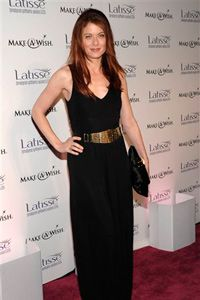 Actress Debra Messing at the Latisse launch party, March 26, 2009. It's not every day you see a celebrity launch party for a purportedly non-cosmetic drug.