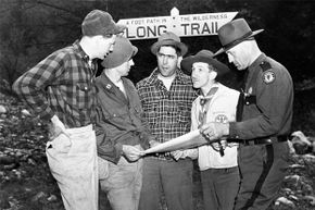 National Guard members and even Boy Scouts searched for Paula Welden in 1947.