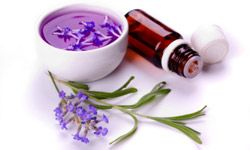 Lavender oil can ease skin issues