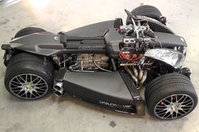 The Lazareth Wazuma V8F -- and yes, it's real. See more Exotic Car Pictures.