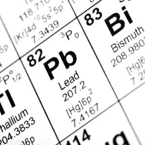 Weighing in with 82 protons, 82 electrons and 125 neutrons on the periodic table, lead is a much-maligned metal. See more chemistry pictures.