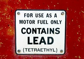You wouldn't see this sign on a gas pump nowadays, but back in the 1970s, leaded gas for cars was the norm. In fact, people just called it regular gasoline, not leaded gasoline.