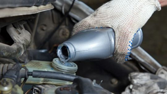 What are the different types of brake fluid?