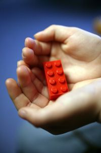 The simple 2 x 4 Lego brick. See more toy pictures.