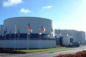The Lego Center in Billund, Denmark.