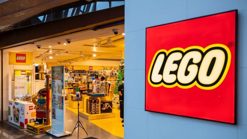 Lego Toy Storefront