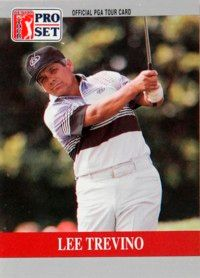 Lee Trevino rose from poverty to the pinnacle of professional golf. See more pictures of famous golfers.