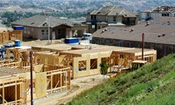 You can get LEED points if you build your home close to other neighborhoods or communities.