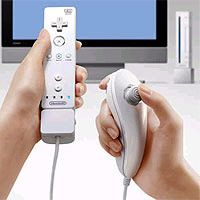 Lefties may have the advantage in fast-paced video games. See pictures of video game system.