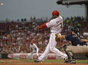 Was Ken Griffey Jr. merely blessed by Satan (also allegedly a lefty), or is there a scientific reason for his left-handed dominance at the plate? Read how baseball works.