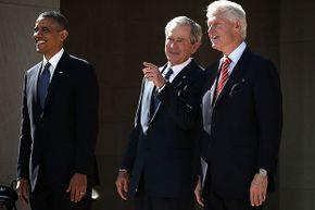 Obama, Bush, Clinton