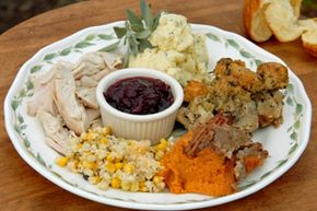 There's only so many times you can eat the same plate of food. See more Thanksgiving turkey pictures.