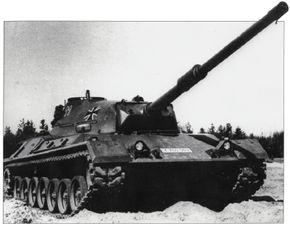 The Leopard 1 Main Battle Tank was the first tank designed and built in post-World War II West Germany.