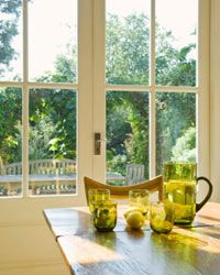 Green Living Image Gallery Lemon Juice and white vinegar make your windows sparkle. See more pictures of green living.