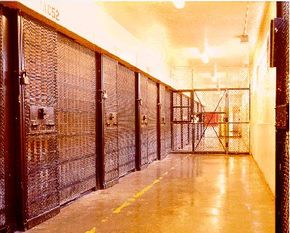 Condemned-inmate housing Adjustment Center at San Quentin State Prison