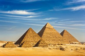 """Next stop on the """"energy highway""""? The Pyramids of Giza!"""