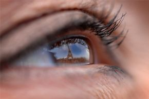 Ancient Greeks argued over whether light rays emanated from a person's eye or the object being viewed.