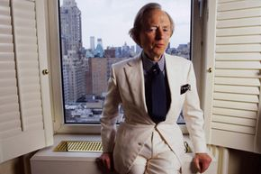 Tom Wolfe is famous for wearing white suits, but does the dapper author's light clothing keep him cooler during the warmer months?