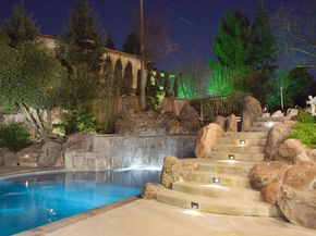 Landscape lighting will keep your yard safe -- and pretty to look at.