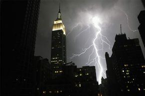 The Empire State Building has been struck several times in one day.