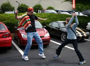 Never bring a tire iron to a lightsaber fight.