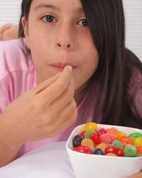 Candy is not a food group.