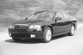 The 2002 Lincoln LS embodied the youthful spirit of buyers whom Lincoln hoped to attract.