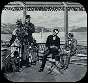 Illustration of Abraham Lincoln