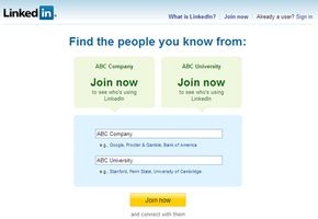 LinkedInhome page. See more pictures of popular web sites.