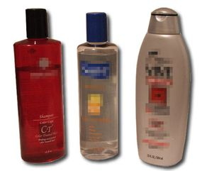 Because it's clear and oily, nitroglycerin would be easy to conceal in lotion or shampoo bottles.