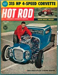 In 1961, Little Deuce Coupe graced the cover of Hot Rod magazine. See more hot rod pictures.