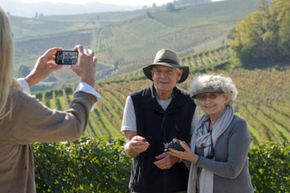 Sardinia, Italy, is one area where people tend to live long, healthy lives. See more healthy aging pictures.