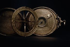 A simulation of the stars, by virtue of Sir Francis Drake's 16th-century astrolabe