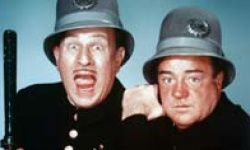 Comedy duo Abbott & Costello insured one of their routines.