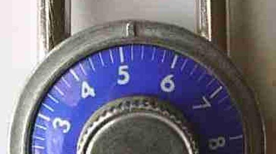 Inside a Combination Lock