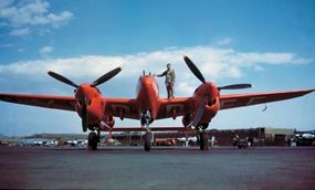 Only one U.S. fighter that was in production prewar was still being made at war's end: the Lockheed P-38 Lightning.