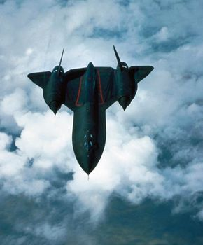 The Lockheed SR-71 Blackbird was one of the fastest and highest-flying planes ever made -- it could go well over 2,000 miles an hour.