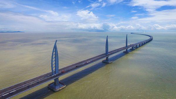 Meet the World's Longest Sea-Crossing Bridge