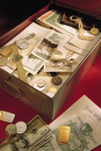 Not really into stashing your savings bonds in a safe deposit box like this one? Not to worry; the U.S. government is bringing savings-bond storage into the 21st century.