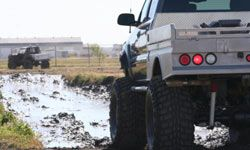 Premium lifts allow vehicle owners to install extra-large tires for things like off-roading and mudding.