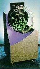 An air-mix Lotto machine