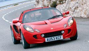 The Elise is designed for high-performance handling.