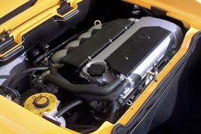 A car would have to be very lightweight to use a smaller engine. See more car engine pictures.